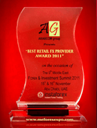 Forex & Investment Summit 2011 -The Best Retail FX Provider1